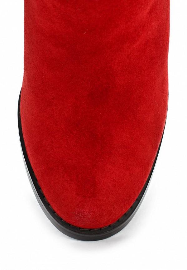 фото Сапоги женские на высоком каблуке Elche EL242AWJX850, красные