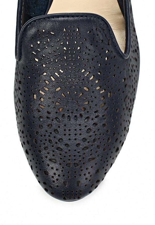 фото Лоферы женские Elmonte EL596AWBBJ16, черные/каблук