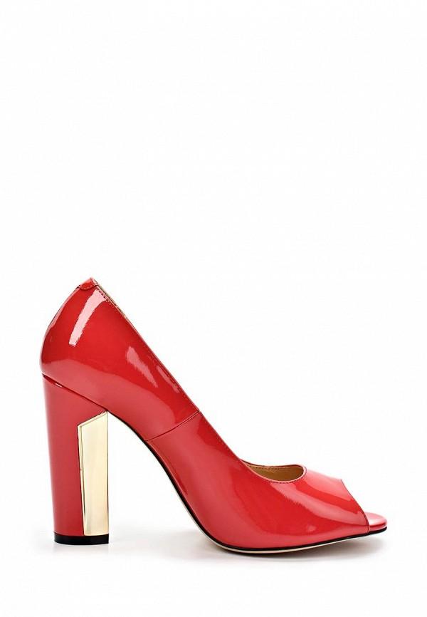 фото Туфли на устойчивом каблуке Elmonte EL596AWBBJ22, красные лаковые