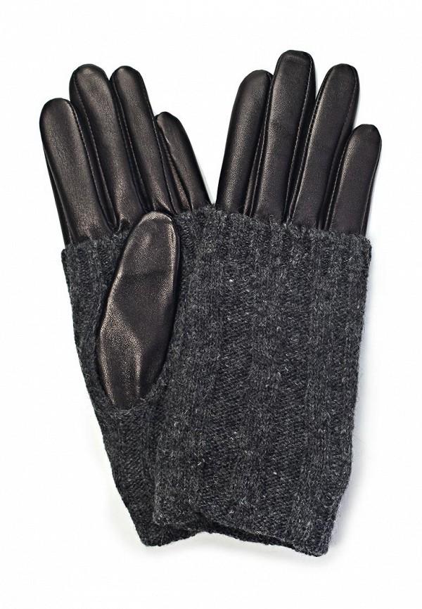 Женские перчатки Eleganzza IS01330 black/grey