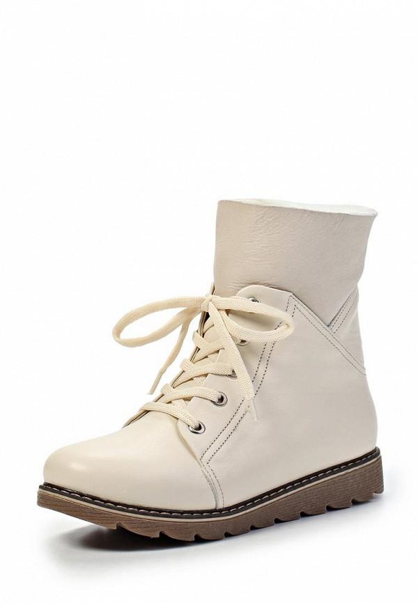 Ботинки Ergo. Цвет: белый