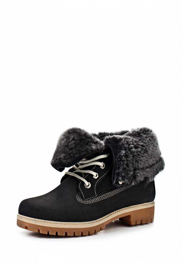 Ботинки Ergo. Цвет: черный