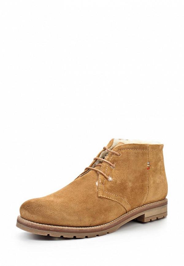 Ботинки Ergo. Цвет: коричневый