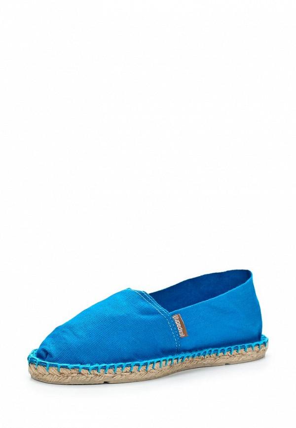 фото Эспадрильи женские Espadrij l'Originale ES602AWAPE47, голубые
