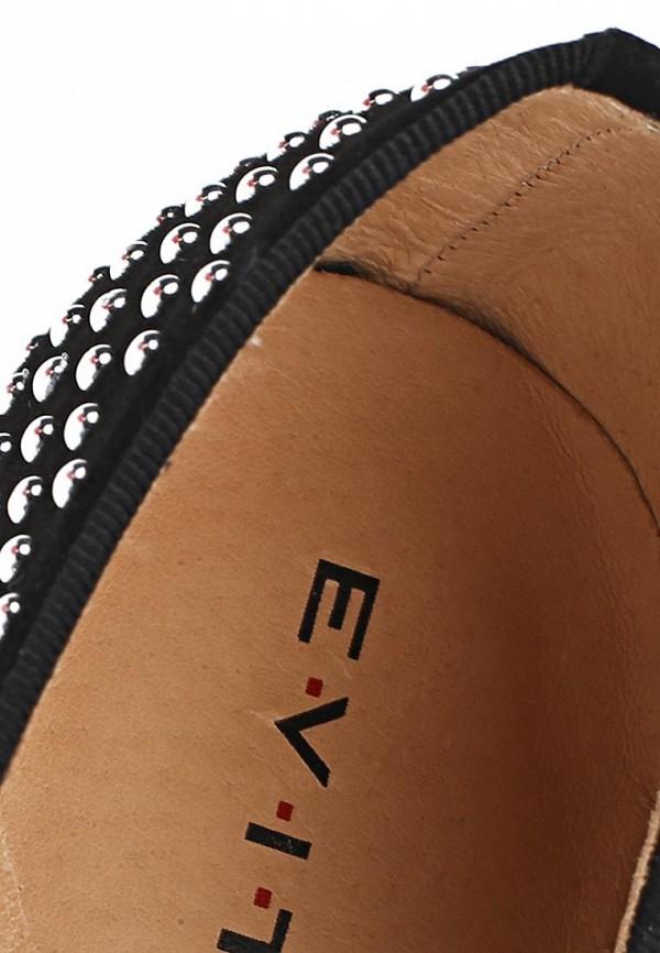 фото Лоферы женские Evita EV002AWAYM36, черные