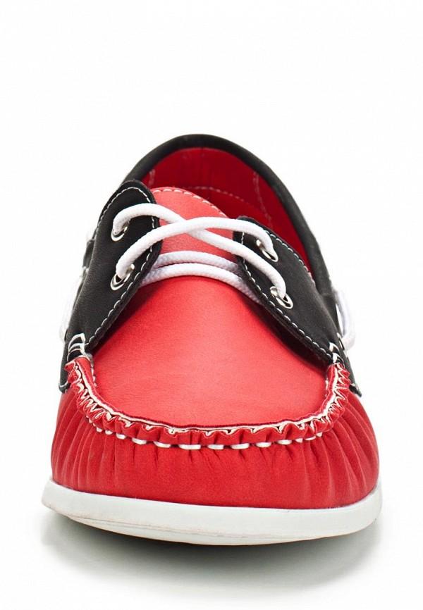 фото Топсайдеры женские Evita EV002AWBQB56, черно-красные