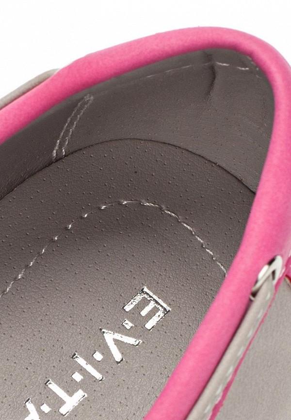 фото Топсайдеры женские Evita EV002AWBQB59, розово-серые