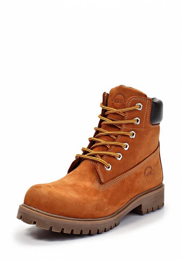 Ботинки Excavator. Цвет: оранжевый