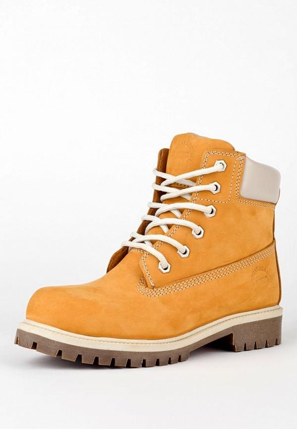 Классические  ботинки Excavator. Цвет: желтый