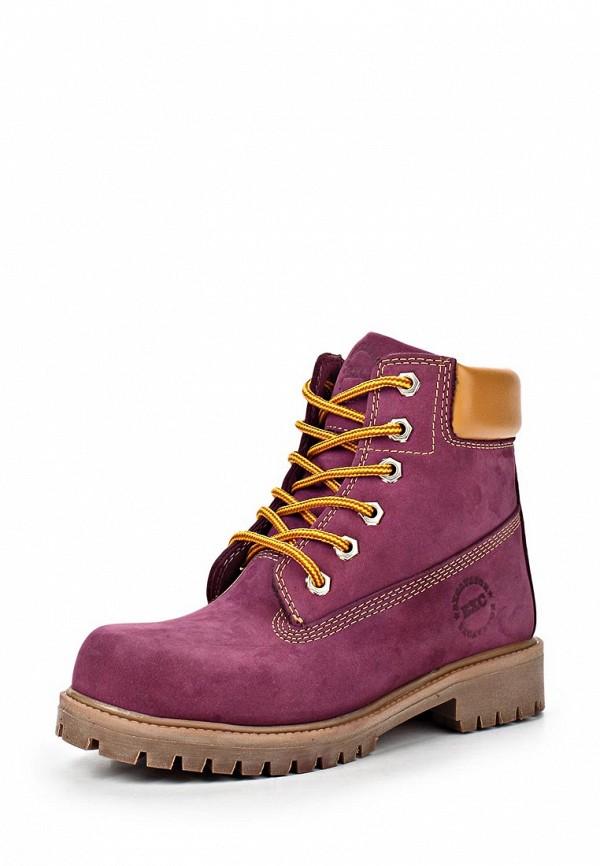 Ботинки Excavator. Цвет: фиолетовый