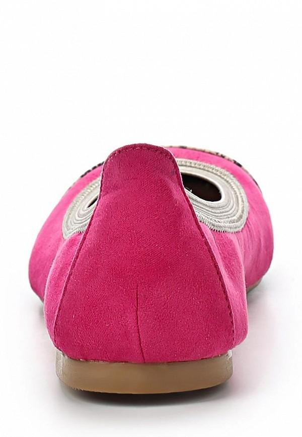 фото Балетки женские EZRA EZ001AWAFI58, розовые с золотым мысом