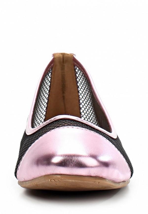 фото Балетки женские EZRA EZ001AWAFI72, коричневые с золотистым носом