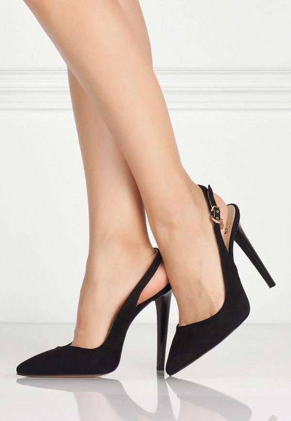 фото Босоножки закрытые на каблуки Fabi FA075AWBCX16, черные