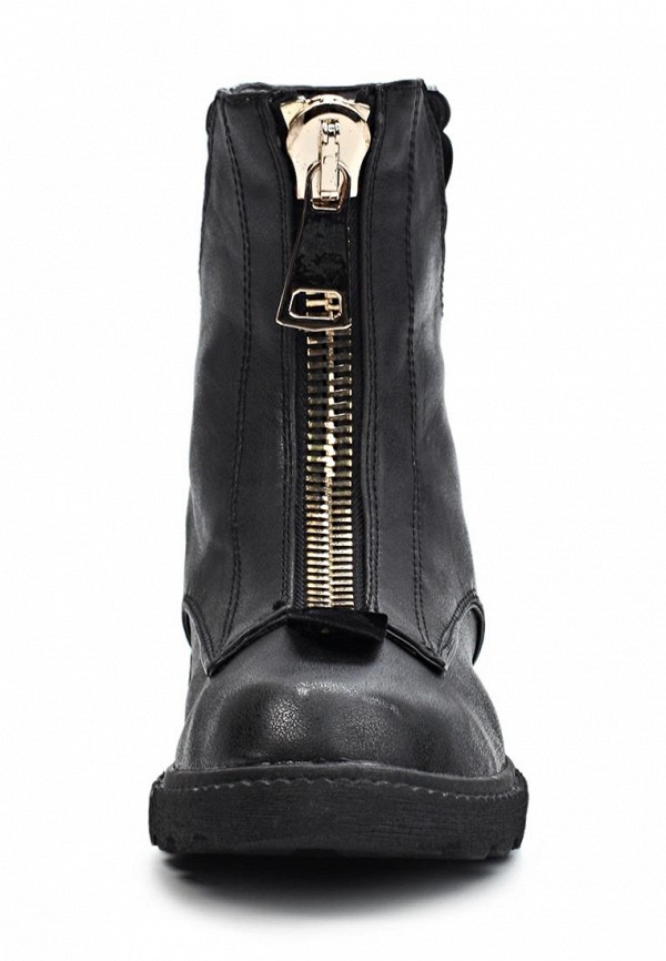 фото Женские полусапожки на платформе Fashion Cutie FA420AWKX015, черные
