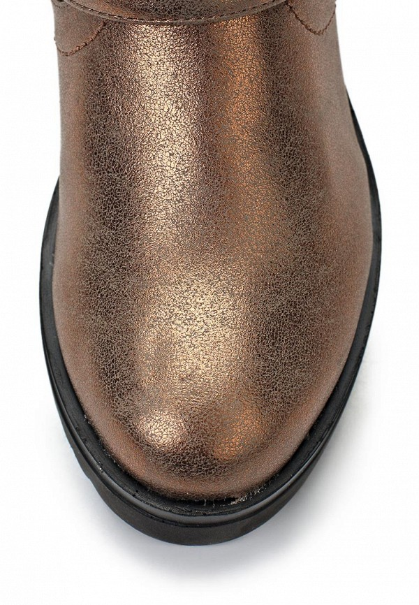 фото Полусапоги женские Fashion Cutie FA420AWKX019, бронзового цвета