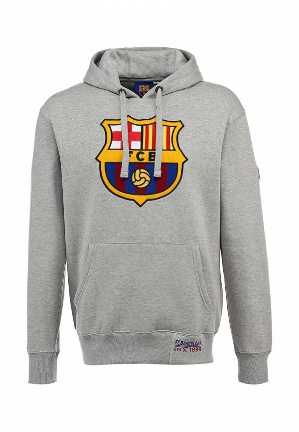 Худи FC Barcelona. Цвет: серый