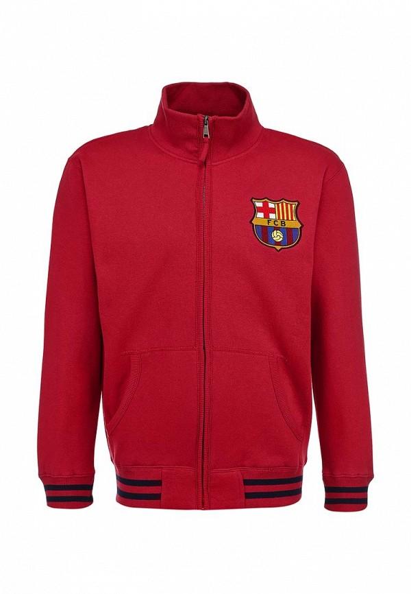 Олимпийка Atributika & Club™ FC Barcelona. Цвет: красный