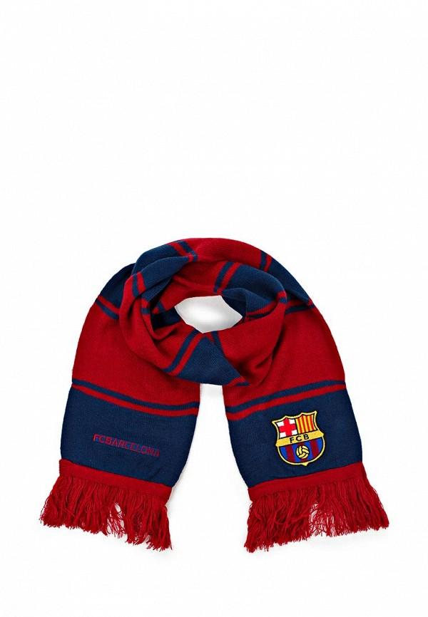 Шарф FC Barcelona. Цвет: красный