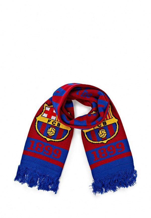 Шарф Atributika & Club™ FC Barcelona. Цвет: красный