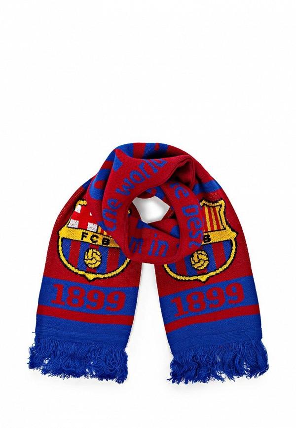 Шарф FC Barcelona. Цвет: бордовый