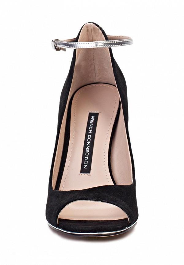 фото Туфли на каблуке с открытым носом French Connection FR003AWAGR69, черные