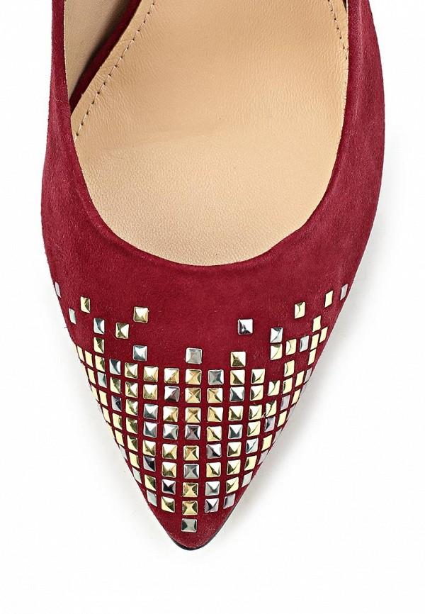 фото Женские туфли на каблуке French Connection FR003AWCNB45красные со стразами