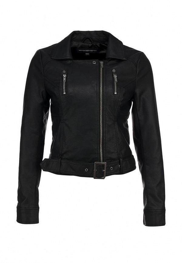 Кожаная куртка French Connection FR003EWARA49. Цвет: черный