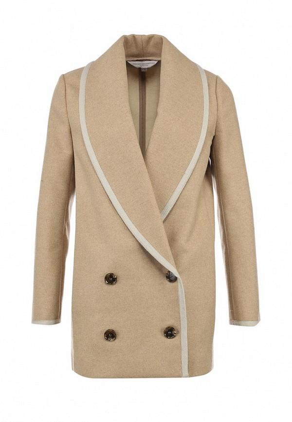 Пальто French Connection FR003EWJA415 70AAH 1269017 бежевый Женский, купить в интернет-магазине со скидкой и доставкой