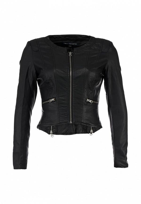 Куртка кожаная French Connection FR003EWJJ452. Цвет: черный