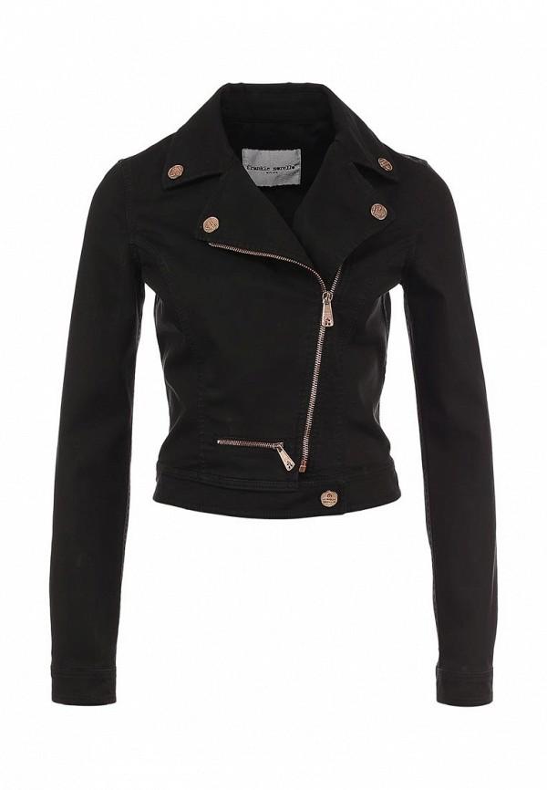 Куртка джинсовая Frankie Morello FR458EWGC660. Цвет: серый