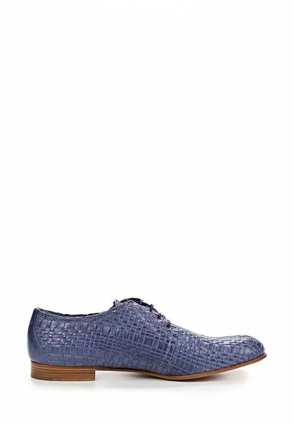 фото Полуботинки женские Fratelli Rossetti FR951AWAYY68, фиолетовые кожаные