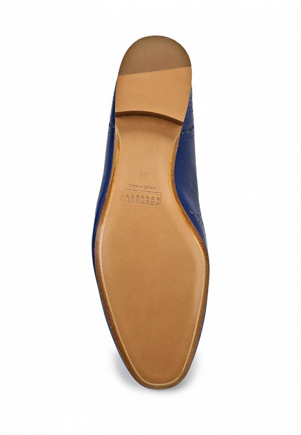 фото Туфли-лоферы на каблуке Fratelli Rossetti FR951AWAYY77, синие