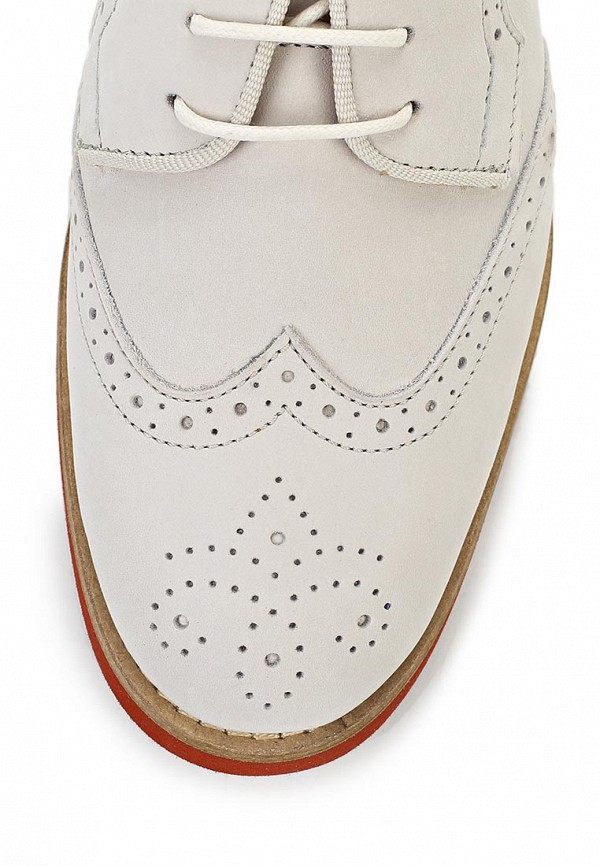 фото Полуботинки женские Gant GA121AWAVB76, белые кожаные