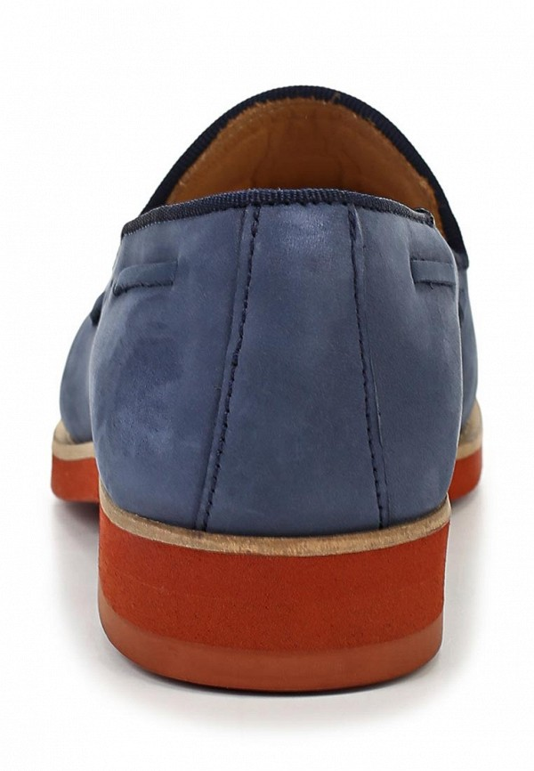 фото Лоферы женские на каблуке Gant GA121AWAVB79, синие