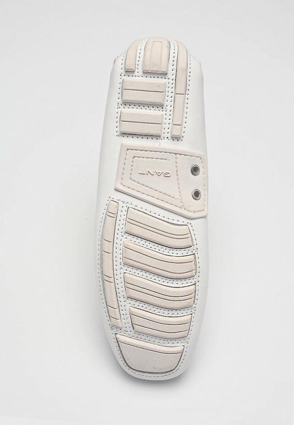 фото Мокасины женские Gant GA121AWBT750, белого цвета