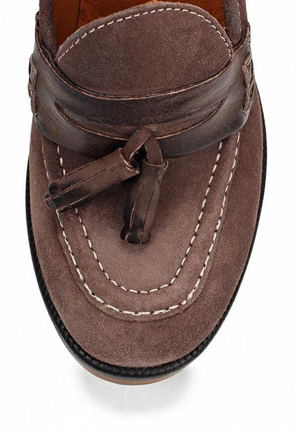 фото Туфли-лоферы на каблуке Gant GA121AWIO116, коричневые