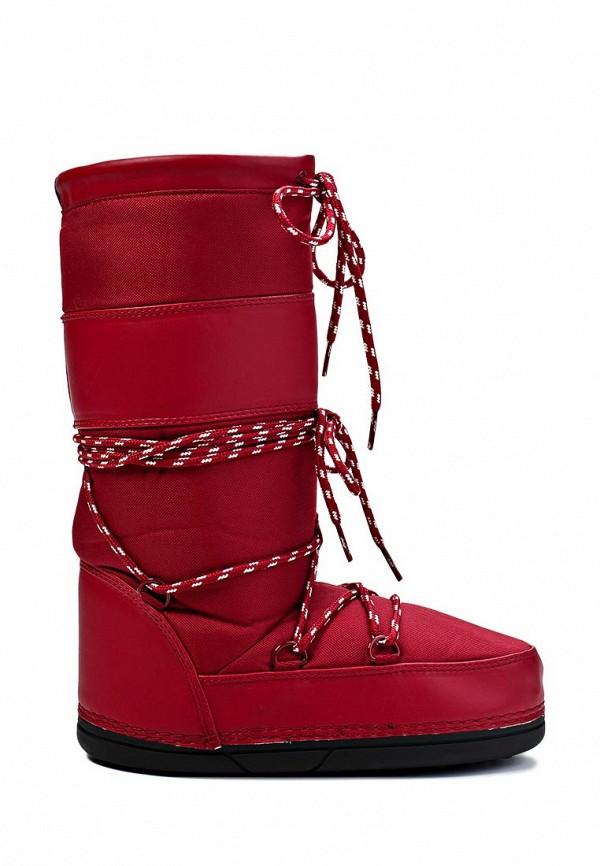 фото Женские сапоги-луноходы Gant GA121AWIO947, красные