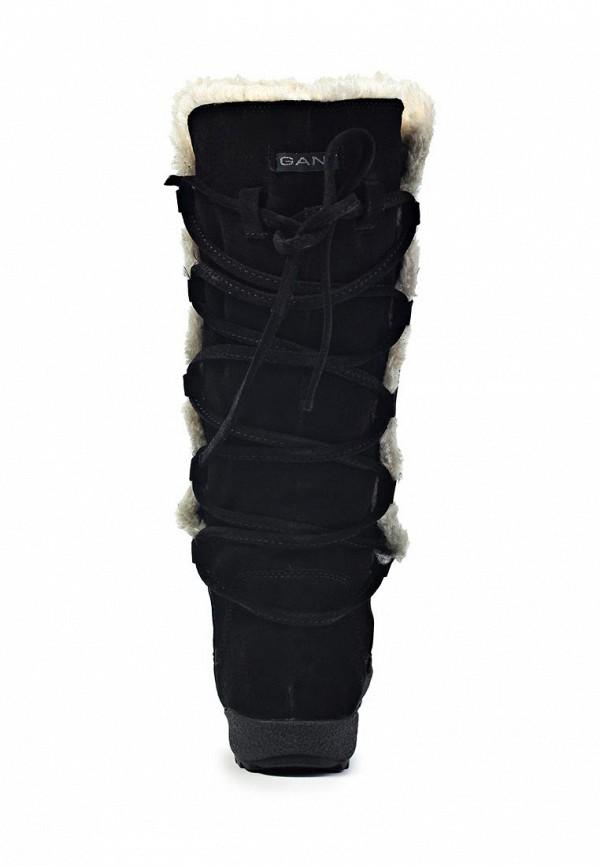 фото Сапоги женские на плоской подошве Gant GA121AWIQ570, черные