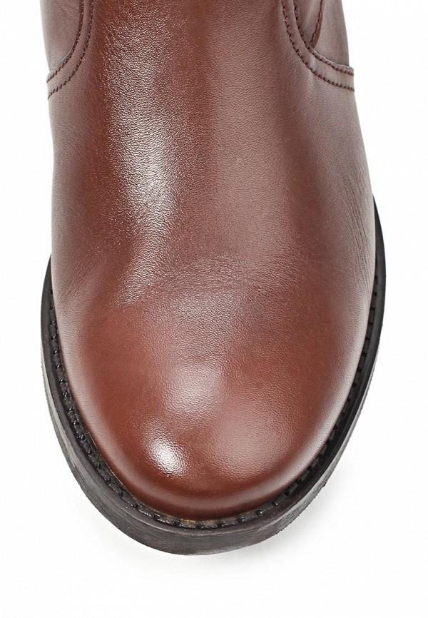фото Женские полусапоги Gaudi GA629AWLC486, коричневые кожаные