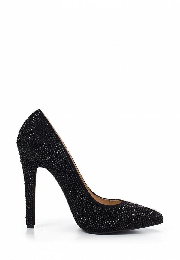 фото Туфли на высоком каблуке Gerzedo GE007AWABA79, черные со стразами