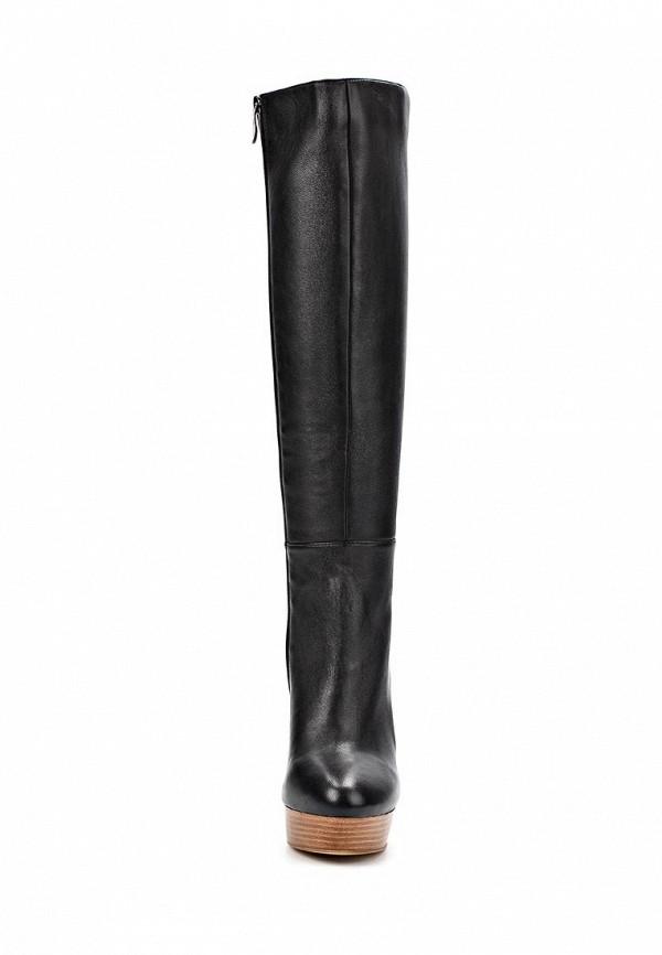 фото Сапоги на платформе и высоком каблуке Gerzedo GE007AWCOZ77, черные