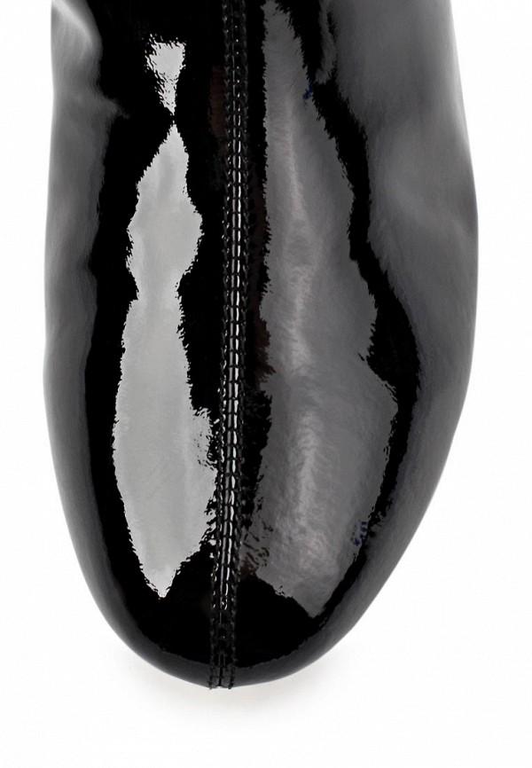 фото Сапоги на плоской подошве Gerzedo GE007AWCOZ94, черные лаковые