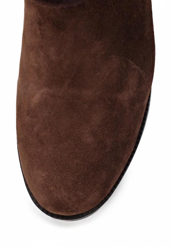 фото Женские полусапоги на платформе Gerzedo GE007AWCPA02, коричневые