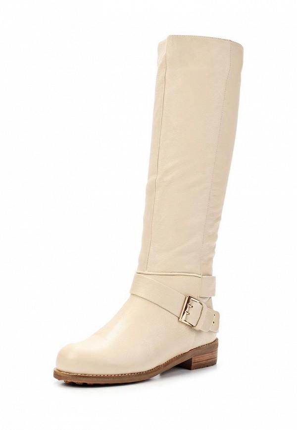 фото Сапоги женские Gerzedo GE007AWCPA05, белые кожаные