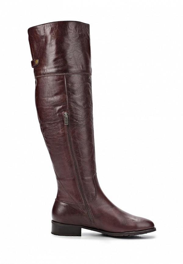 фото Женские сапоги-ботфорты Gerzedo GE007AWCPA18, коричневые