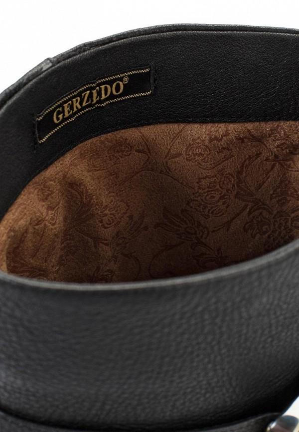 фото Сапоги на платформе и высоком каблуке Gerzedo GE007AWJC920, черные