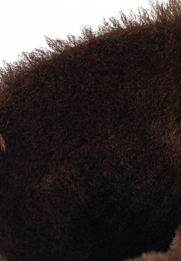 фото Женские полусапожки на танкетке Gerzedo GE007AWJD037, коричневые