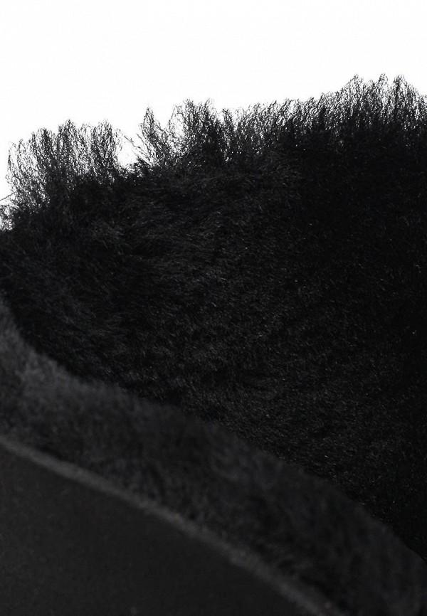 фото Женские полусапоги на танкетке Gerzedo GE007AWJD045, черные