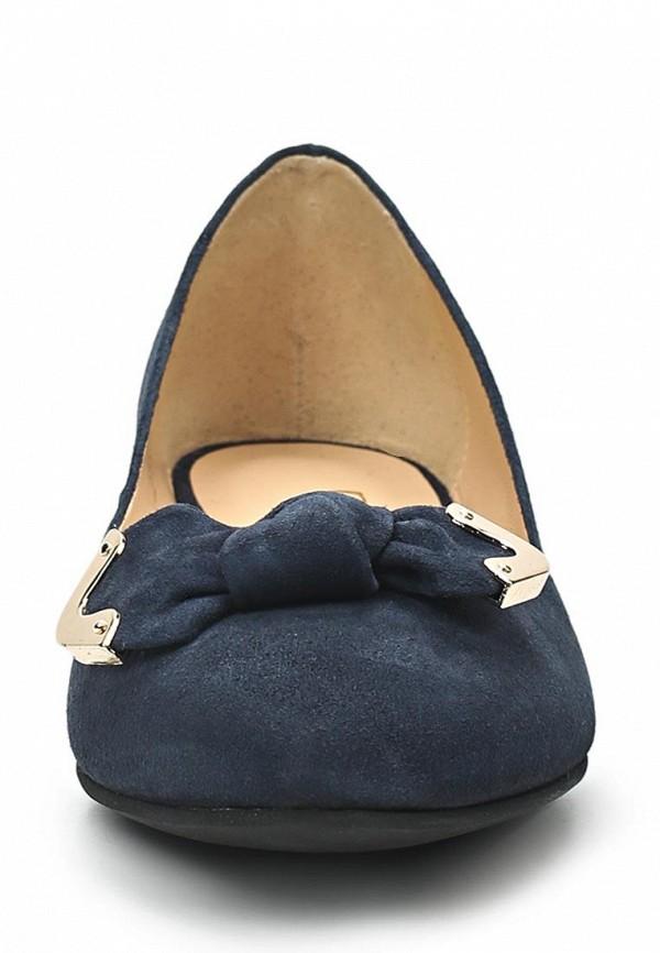 фото Балетки на каблуке Giotto GI514AWASI21, темно-синие