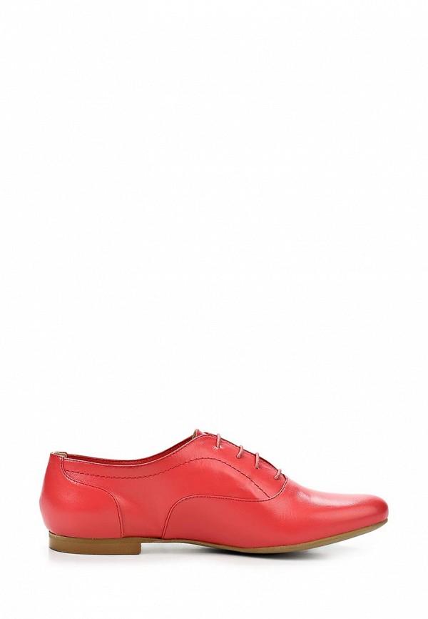 фото Полуботинки женские Giotto GI514AWASI95, красные кожаные